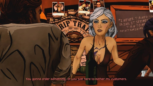 Screenshot zu The Wolf Among Us - Episode 1: Faith - Screenshots