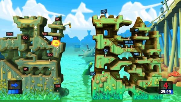 Screenshot zu Worms Revolution - Screenshots