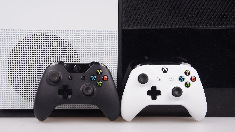 xbox one s kleiner effizienter besser gamestar. Black Bedroom Furniture Sets. Home Design Ideas