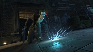 <b>Batman: Arkham Origins</b><br/>Screenshot aus dem Multiplayer-Modus »Hunter, Hunted«