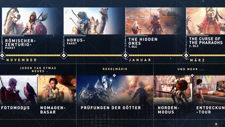Assassin's Creed: Origins - Trailer zeigt die Season-Pass-Inhalte