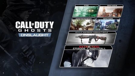 Call of Duty: Ghosts - Gameplay-Trailer aus dem ersten DLC »Onslaught«