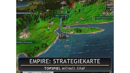 Empire: Total War - Test-Video: Die Strategiekarte