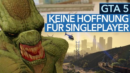 GTA 5 - Video: Neue Alien-Mission ist der Sargnagel für Singleplayer