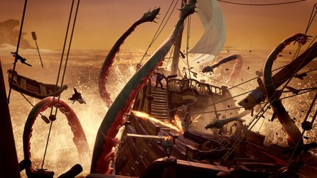 Sea of Thieves im Livestream - Vier Pulveraffen stechen in See