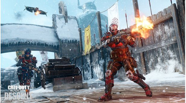 Call of Duty: Black Ops 3 - Screenshots zum dritten DLC »Descent«