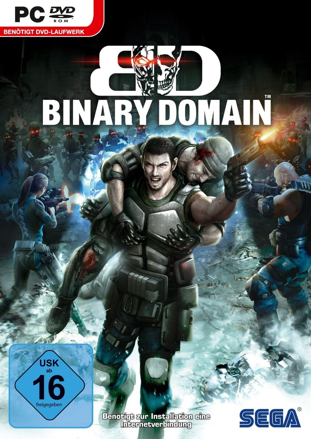 Cover zu Binary Domain