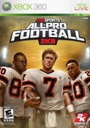 Cover zu All-Pro Football 2K8 - Xbox 360