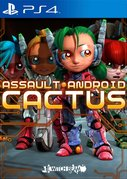 Cover zu Assault Android Cactus - PlayStation 4