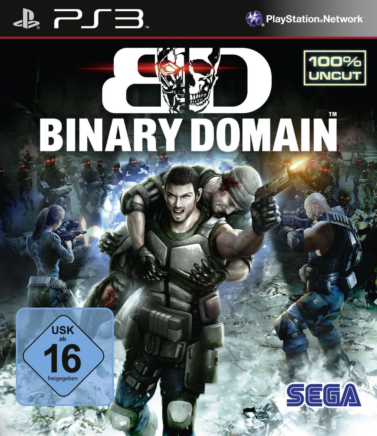 Cover zu Binary Domain - PlayStation 3