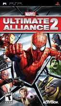Cover zu Marvel: Ultimate Alliance 2 - PSP