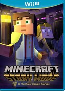 Cover zu Minecraft: Story Mode - Wii U