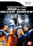 Cover zu Fantastic Four: Rise of the Silver Surfer - Wii