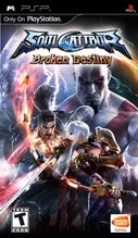 Cover zu Soul Calibur: Broken Destiny - PSP