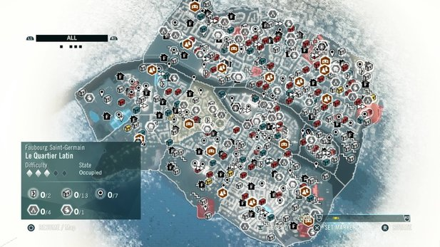 Assassin's Creed: Unitys Map