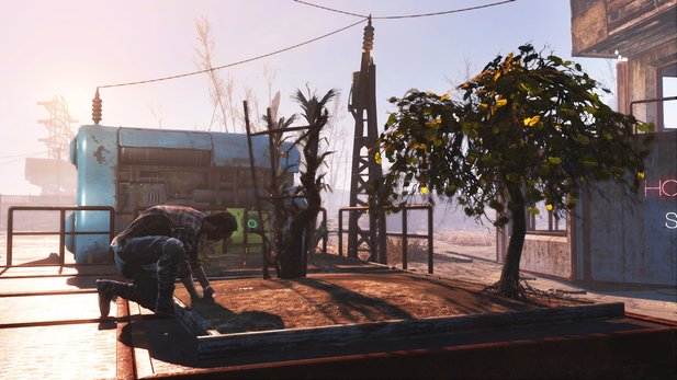 Fallout 4 - Trailer zeigt DLC »Wasteland Workshop«