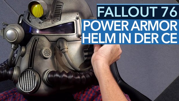 Fallout 76 - Unboxing-Video der Power Armor Edition