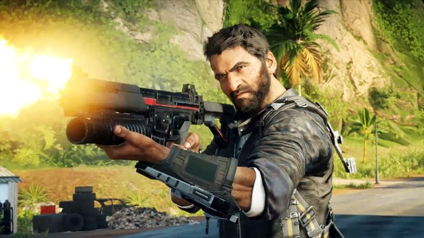 Stürmische Action erwartet Rico in Just Cause 4