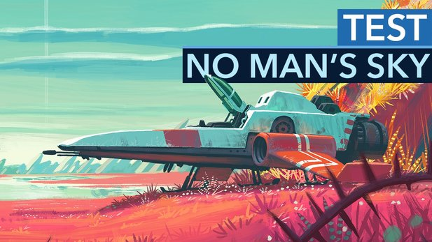 No Man's Sky - Test-Video zum Weltraumspiel