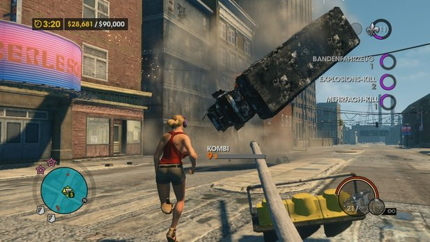 Saints Row: The Third - Test-Video für Xbox 360 und PlayStation 3