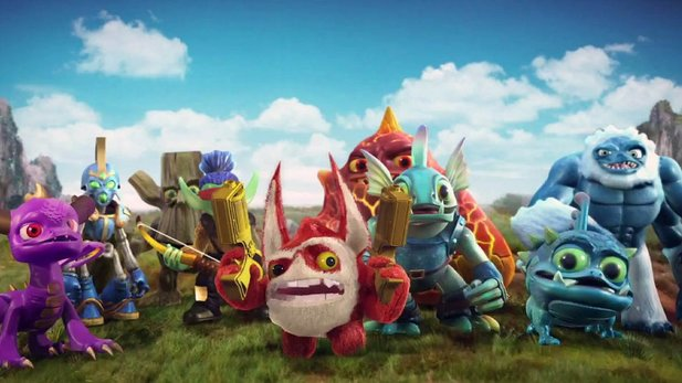 Debüt-Trailer von Skylanders Giants