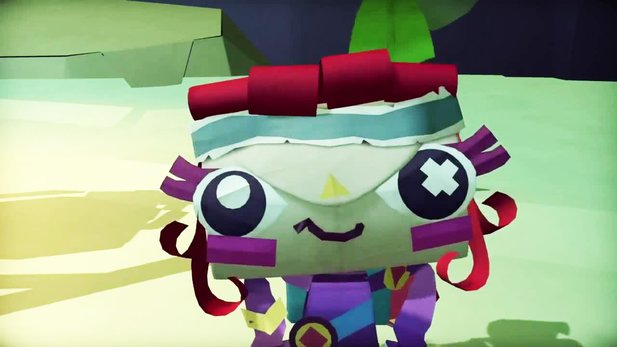 Tearaway Unfolded - Gameplay-Trailer von den Game Awards 2014
