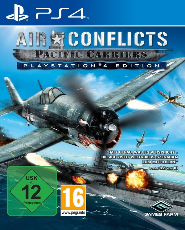 Cover zu Air Conflicts: Pacific Carriers