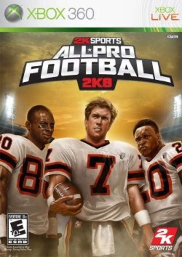 Cover zu All-Pro Football 2K8