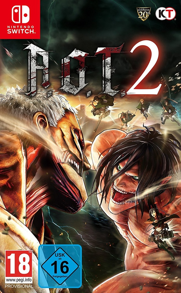 Cover zu Attack on Titan 2