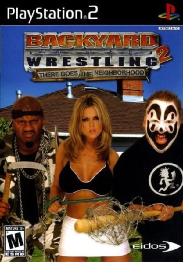 Cover zu Backyard Wrestling 2: There Goes The Neighborhood