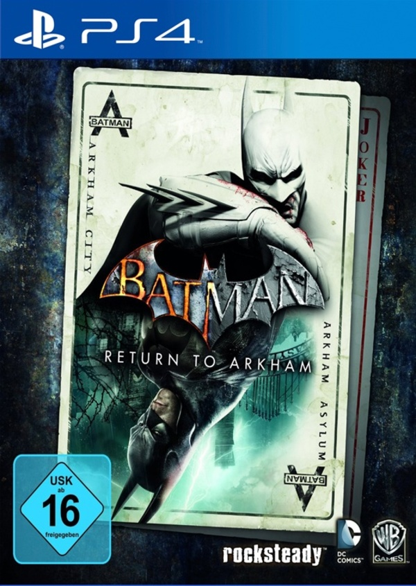 Cover zu Batman: Return to Arkham