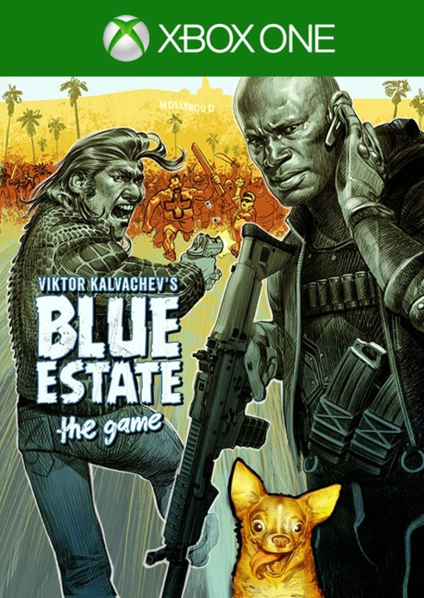 Cover zu Blue Estate