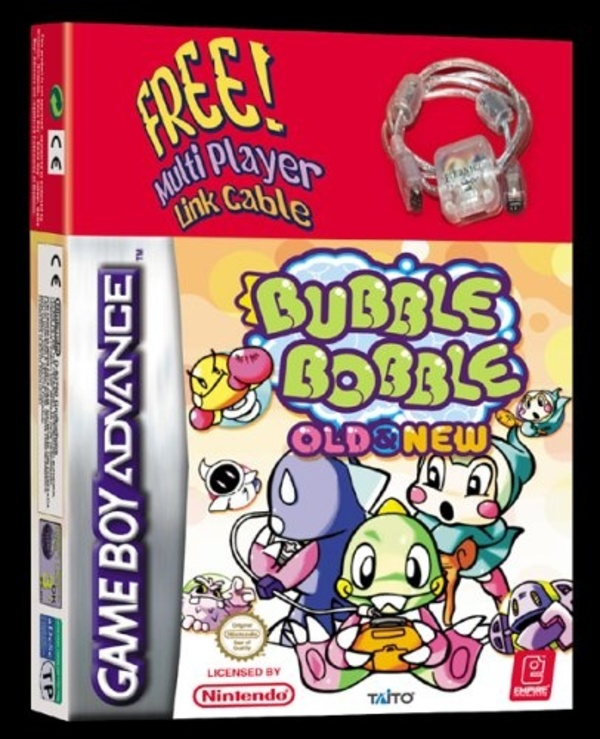 Cover zu Bubble Bobble Old & New