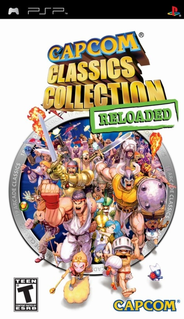 Cover zu Capcom Classics Collection Reloaded