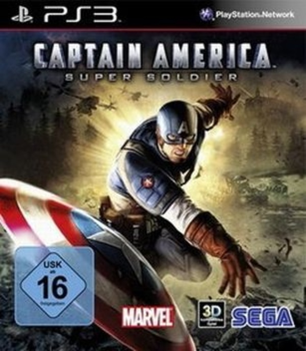 Cover zu Captain America: Super Soldier