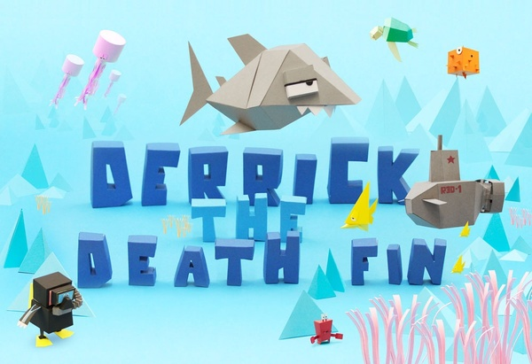 Cover zu Derrick the Deathfin