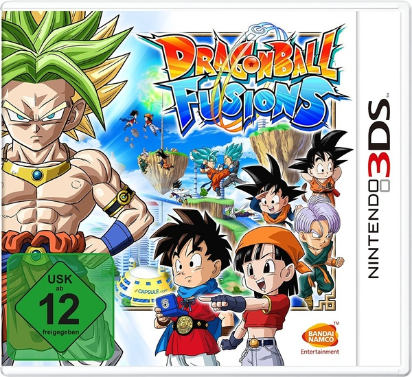 Cover zu Dragon Ball Fusions