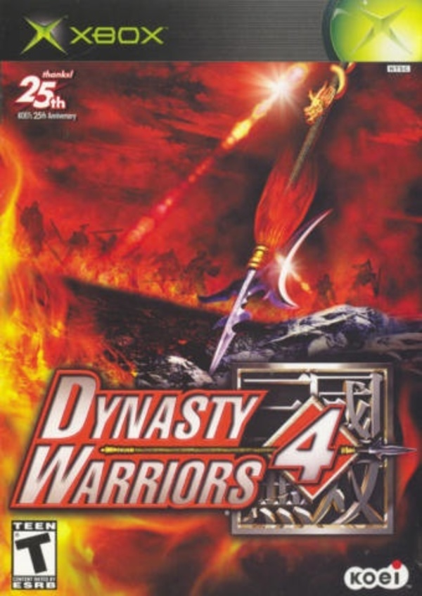 Cover zu Dynasty Warriors 4