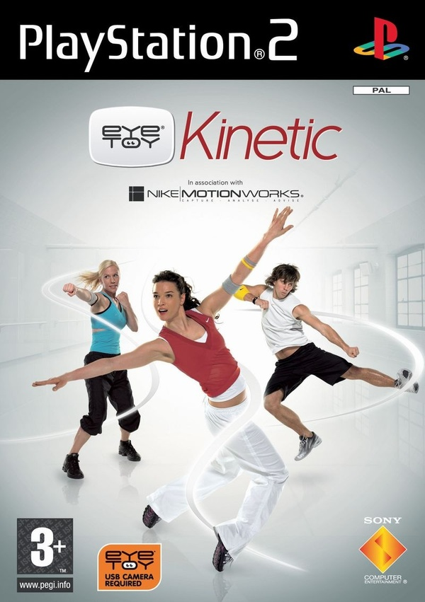 Cover zu EyeToy: Kinetic Combat