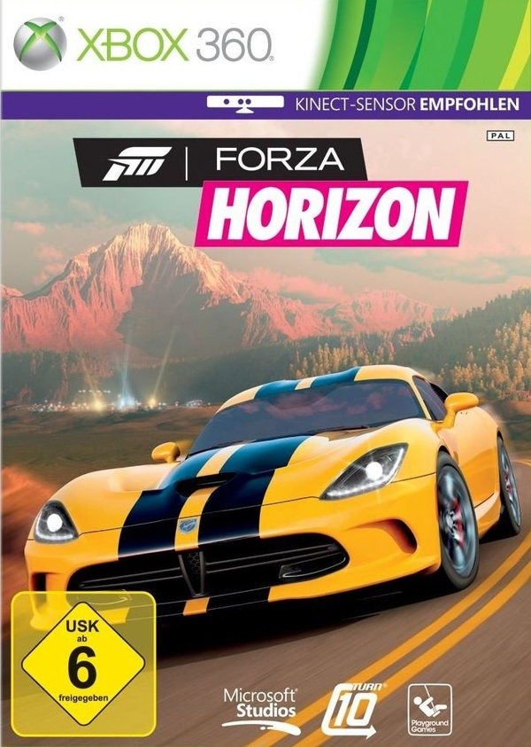 Cover zu Forza Horizon