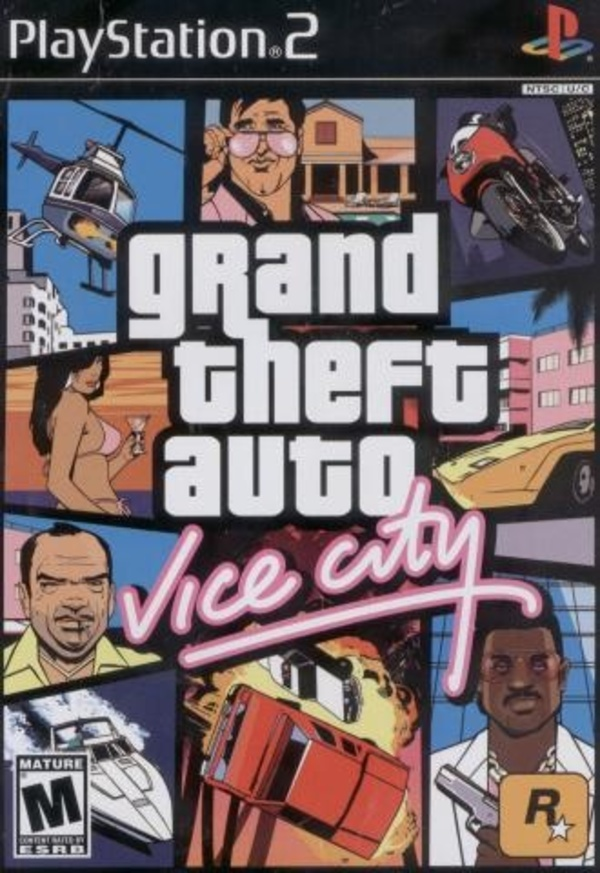 Cover zu GTA: Vice City