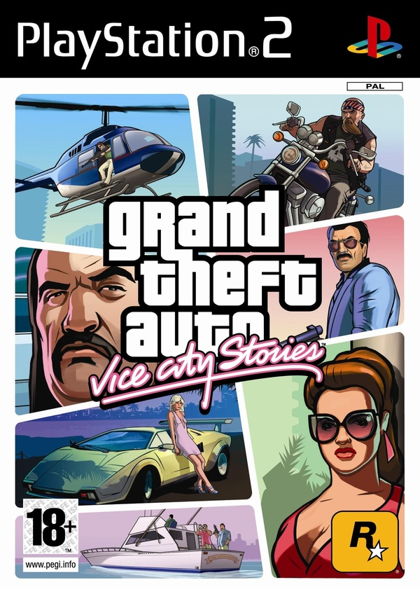 Cover zu GTA: Vice City Stories