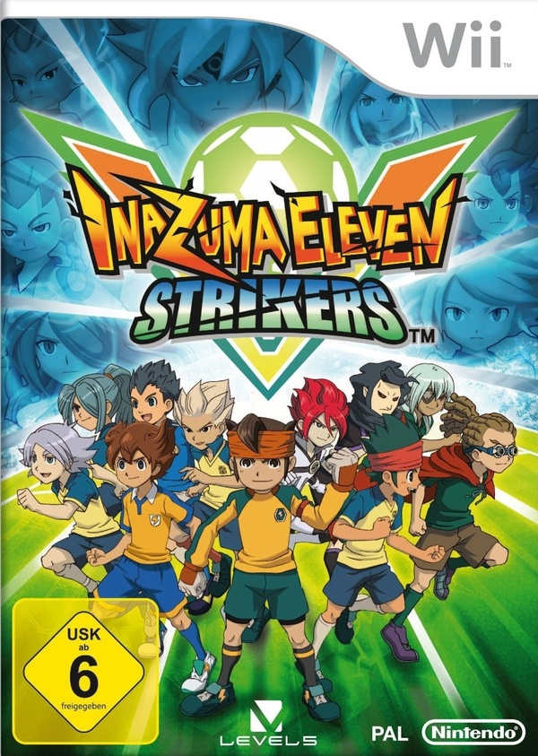 Cover zu Inazuma Eleven Strikers
