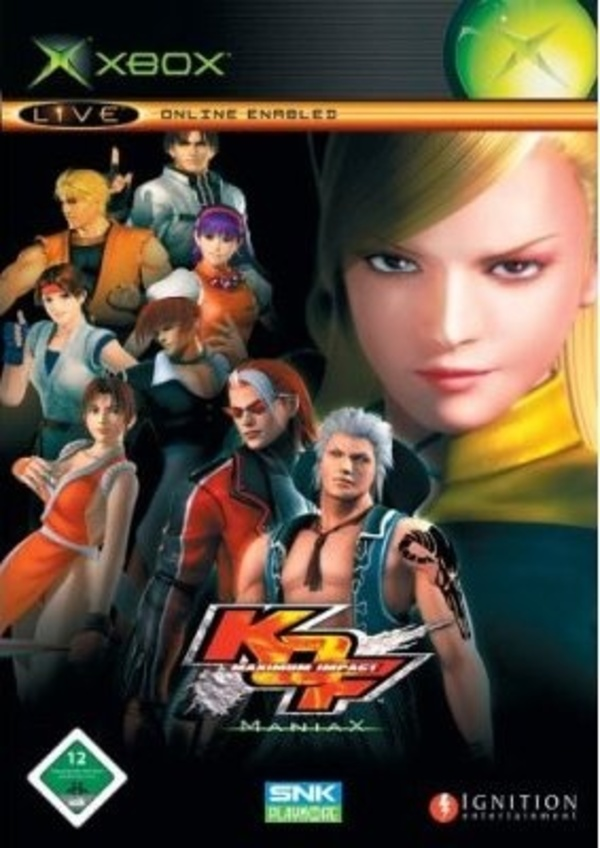 Cover zu The King of Fighters: Maximum Impact - Maniax