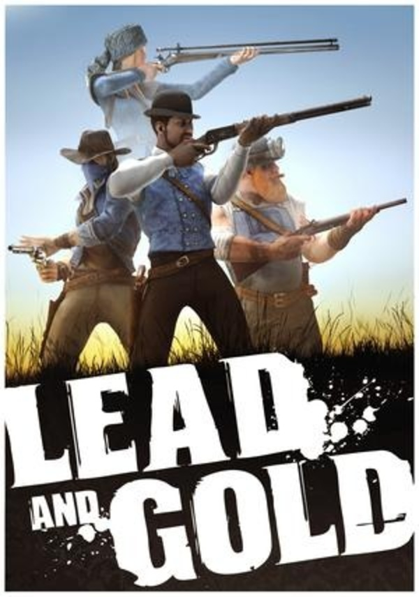 Cover zu Lead and Gold: Gangs of the Wild West