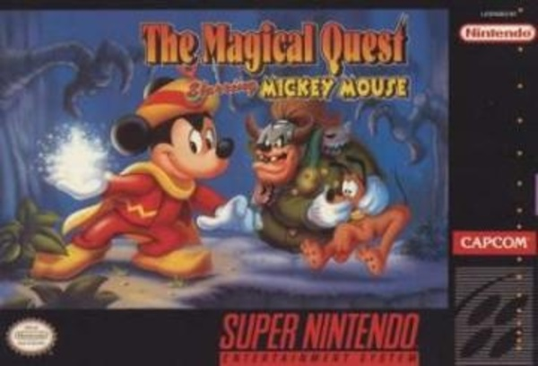 Cover zu Magical Quest Starring Mickey Mouse, The