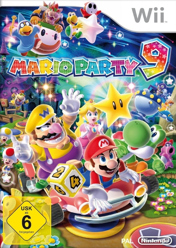 Cover zu Mario Party 9