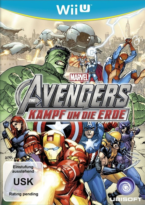 Cover zu Marvel Avengers: Battle for Earth