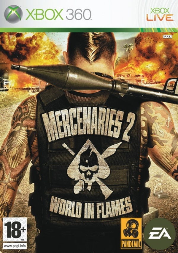 Cover zu Mercenaries 2: World in Flames