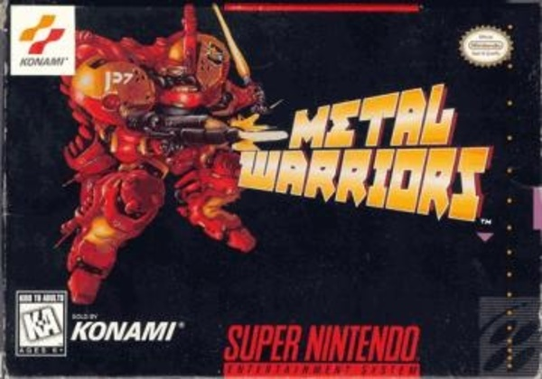 Cover zu Metal Warriors